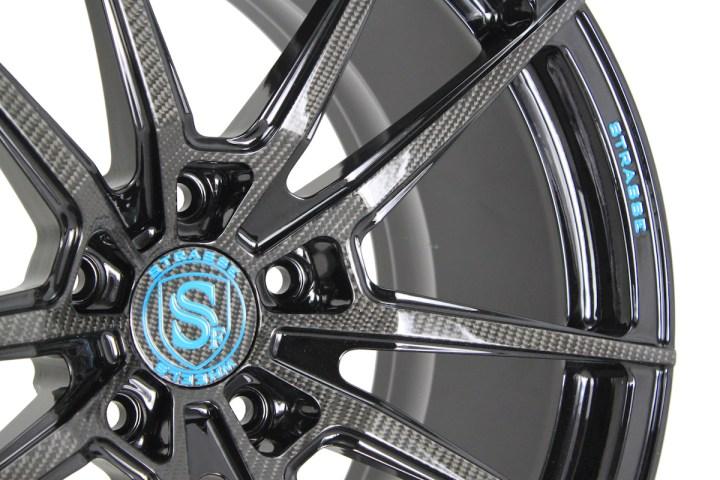 SV1 Deep Concave Monoblock - Carbon & Miami Blue 4