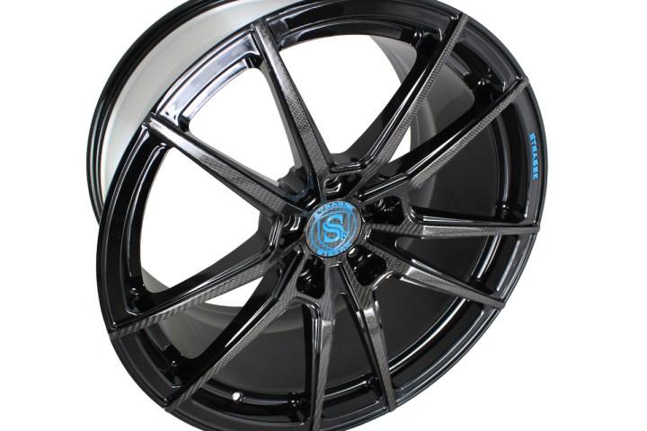 SV1 Deep Concave Monoblock - Carbon & Miami Blue 6