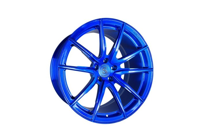 SV5 Deep Concave Monoblock - Brushed Blue 2