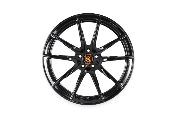 SV5 Deep Concave Monoblock - Gloss Black & Orange 1