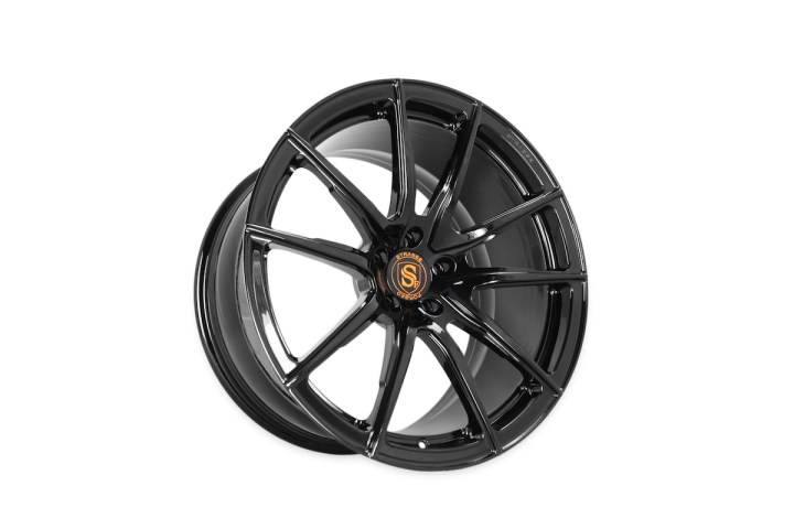 SV5 Deep Concave Monoblock - Gloss Black & Orange 2