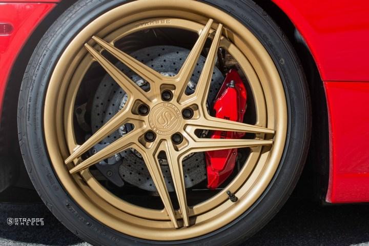 Ferrari 430 Scuderia - SV2T Deep Concave FS - Satin Gold 10