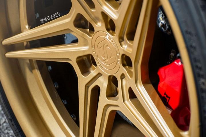 Ferrari 430 Scuderia - SV2T Deep Concave FS - Satin Gold 5