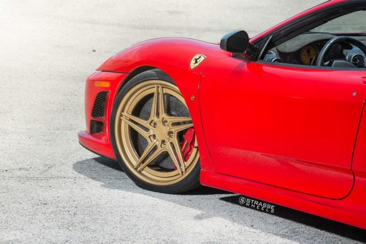 Ferrari 430 Scuderia - SV2T Deep Concave FS - Satin Gold 6