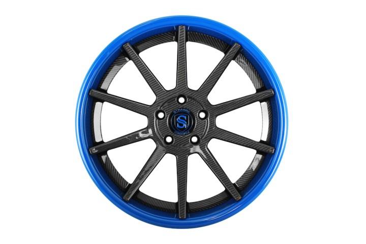 R10 Deep Concave - Carbon Fiber & Laguna Seca Blue 1