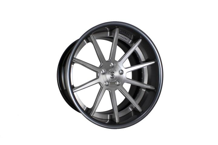 R10 Deep Concave - Gloss Brushed Titanium & Gunmetal 2