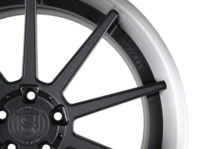 R10 Deep Concave - Satin Black & Gloss Brushed Titanium 2