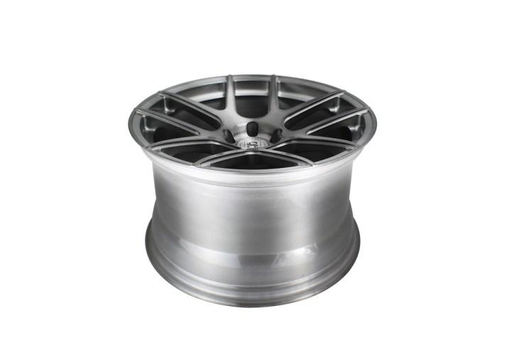 SM5 Deep Concave Monoblock - Gloss Brushed Titanium 5
