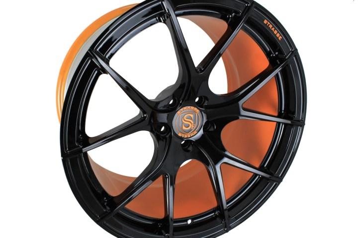 SM5R Deep Concave Monoblock - Gloss Black & Arancio Borealis Barrel 3