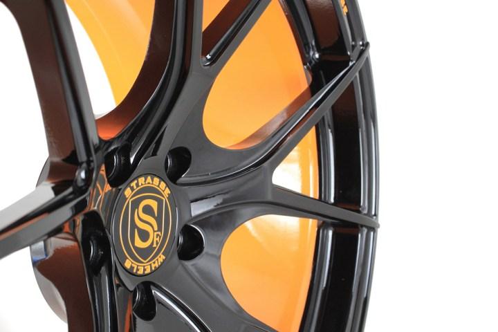 SM5R Deep Concave Monoblock - Gloss Black & Arancio Borealis Barrel 8