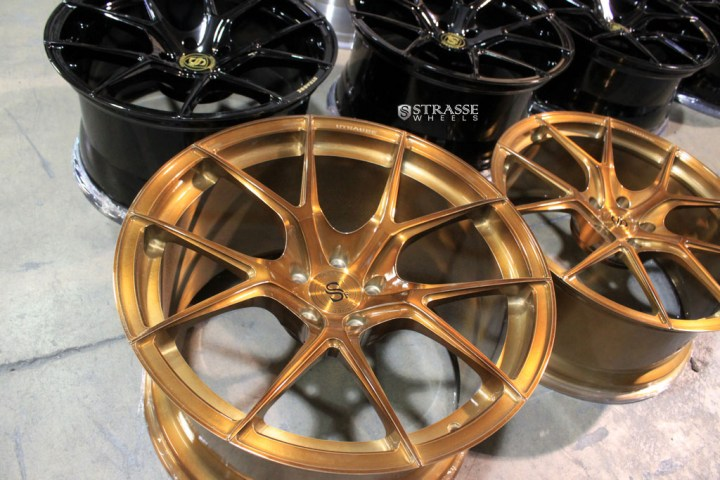 SM5R Deep Concave Monoblock - Gloss Brushed Bronze 6