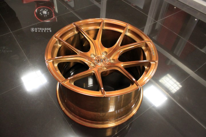 SM5R Deep Concave Monoblock - Gloss Brushed Bronze 8