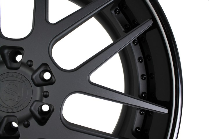 SM7 Deep Concave - Matte & Gloss Black 24 4