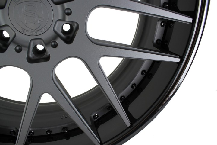SM7 Deep Concave - Matte & Gloss Black 24 6