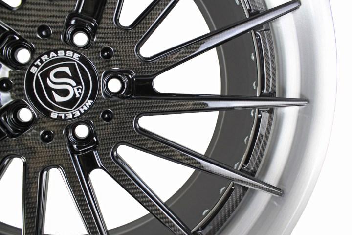 SV15T Deep Concave FS - Carbon Fiber & Brushed 7