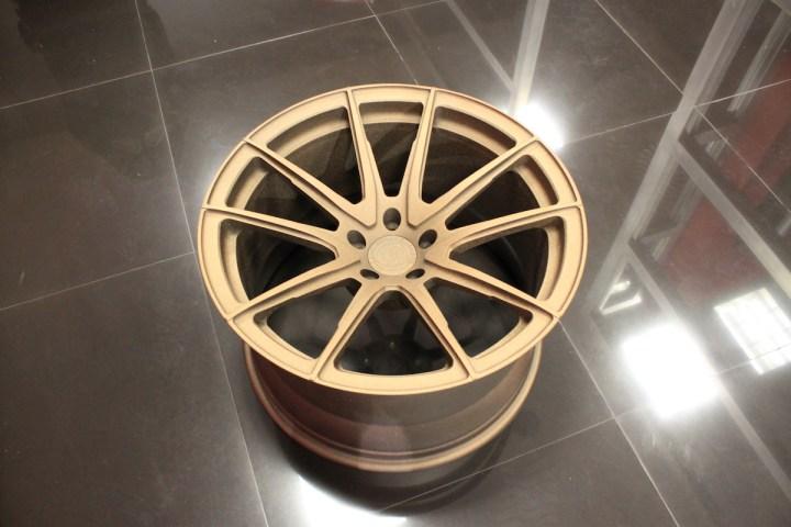 SV5 Deep Concave Monoblock - Matte Bronze 8