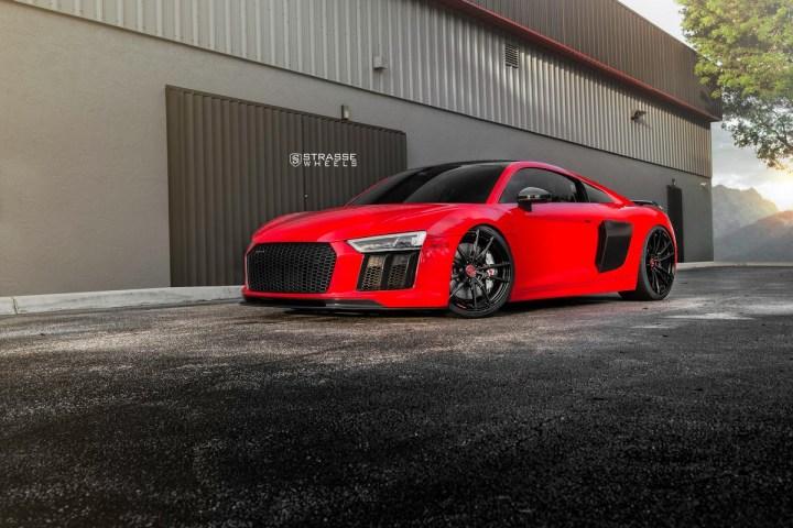 Audi R8 V10 Plus - 20:21 SV1 Deep Concave Monoblock - Carbon 17