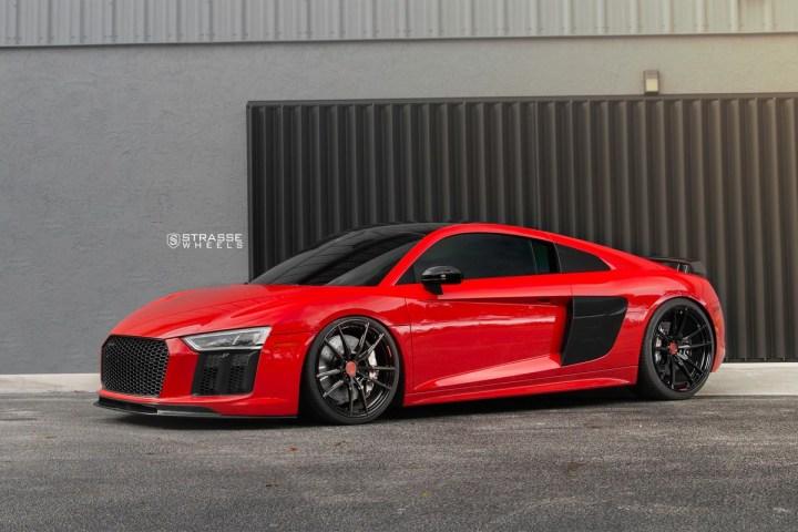 Audi R8 V10 Plus - 20:21 SV1 Deep Concave Monoblock - Carbon 2