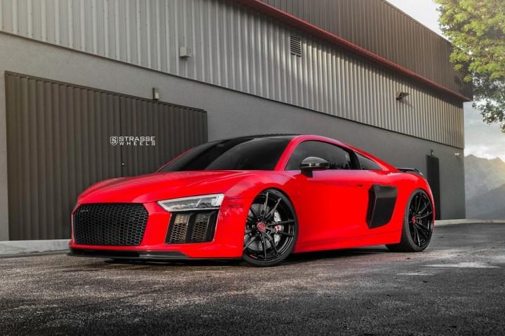 Audi R8 V10 Plus - 20:21 SV1 Deep Concave Monoblock - Carbon 3