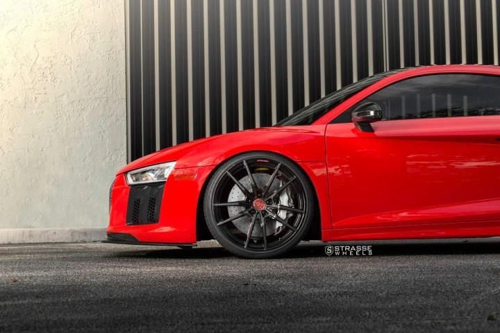 Audi R8 V10 Plus - 20:21 SV1 Deep Concave Monoblock - Carbon 4