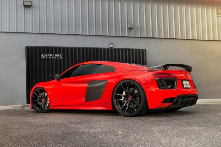 Audi R8 V10 Plus - 20:21 SV1 Deep Concave Monoblock - Carbon 8