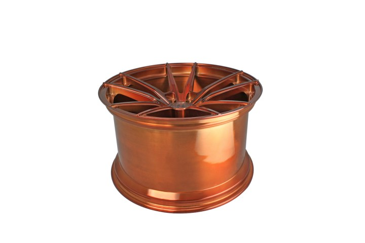 SV1 Deep Concave Monoblock - Gloss Brushed Copper 12