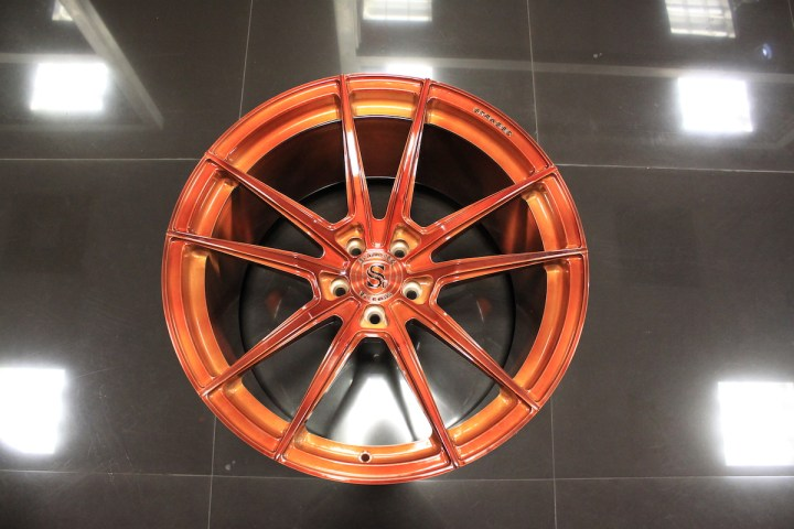 SV1 Deep Concave Monoblock - Gloss Brushed Copper 13