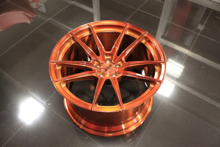 SV1 Deep Concave Monoblock - Gloss Brushed Copper 14