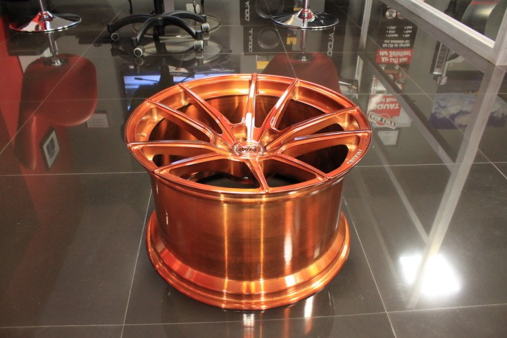 SV1 Deep Concave Monoblock - Gloss Brushed Copper 16