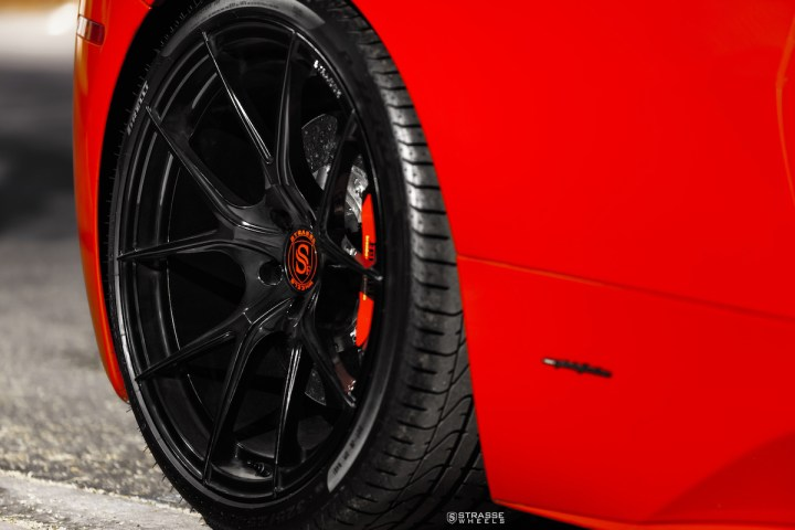 Ferrari 458 Italia - 20:21 SM5R Deep Concave Monoblock - Gloss Black - Vivid Racing 12