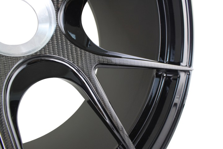 SM5R Deep Concave Monoblock - Centerlock - Carbon Fiber 8
