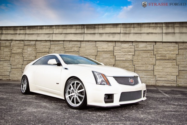 Strasse Forged CTS-V Coupe 1