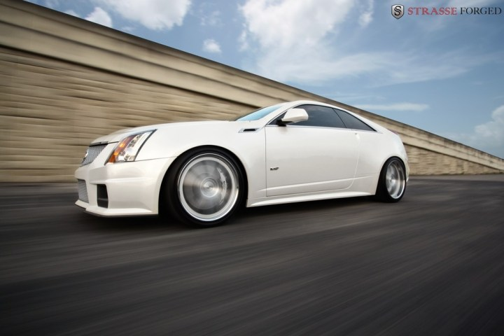 Strasse Forged CTS-V Coupe 2
