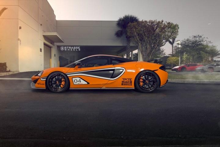 McLaren 570S - 20:21 SV1 Deep Concave FS - Ventura Orange 10