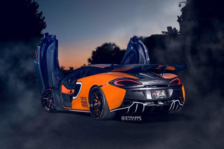 McLaren 570S - 20:21 SV1 Deep Concave FS - Ventura Orange 14