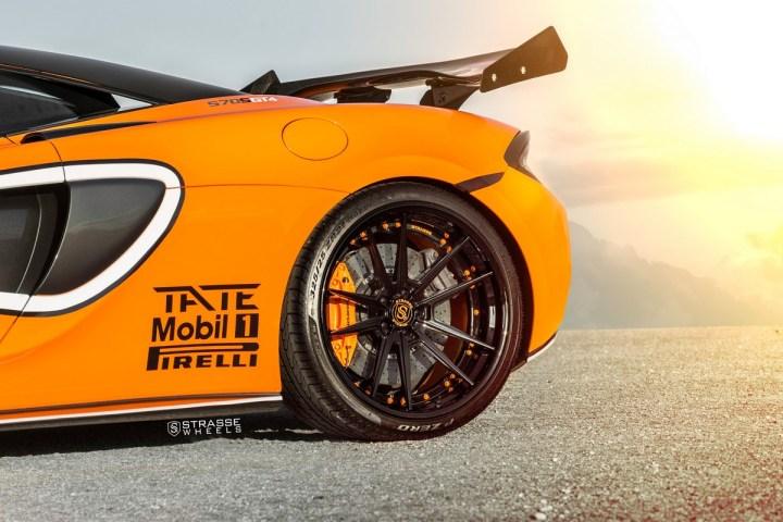McLaren 570S - 20:21 SV1 Deep Concave FS - Ventura Orange 16