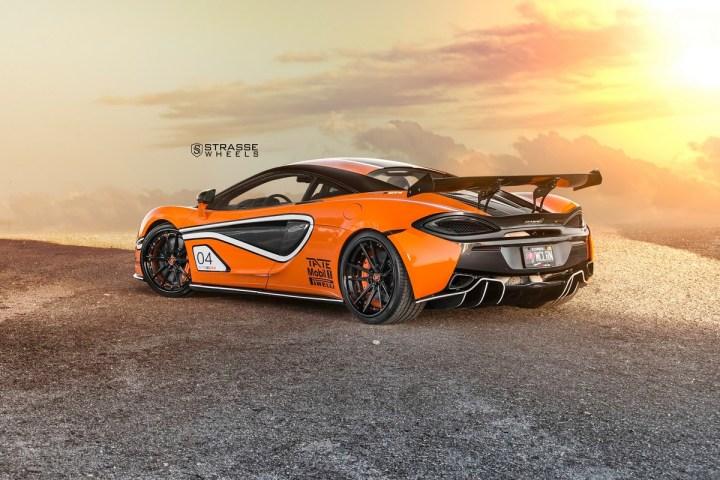 McLaren 570S - 20:21 SV1 Deep Concave FS - Ventura Orange 18