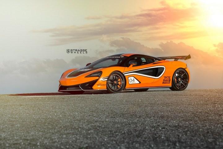 McLaren 570S - 20:21 SV1 Deep Concave FS - Ventura Orange 2