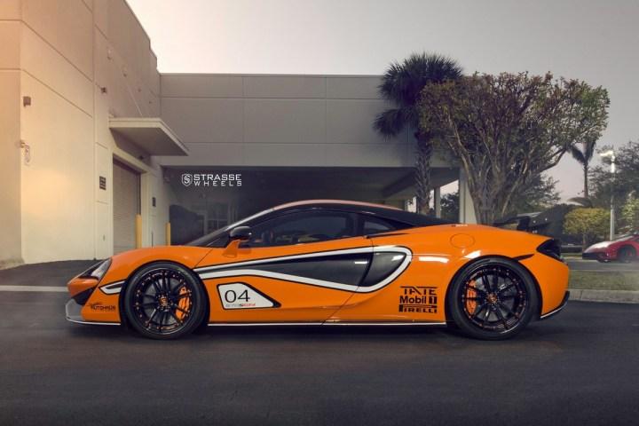 McLaren 570S - 20:21 SV1 Deep Concave FS - Ventura Orange 6