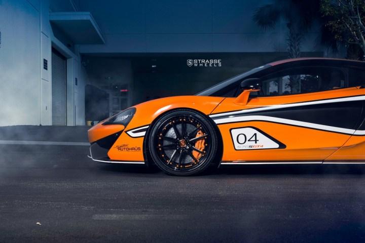 McLaren 570S - 20:21 SV1 Deep Concave FS - Ventura Orange 8