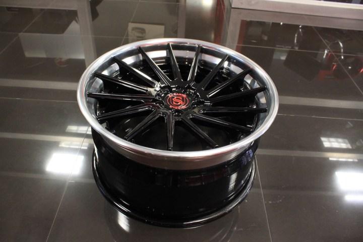 SV15T Deep Concave FS - Gloss Black & High Polish 13
