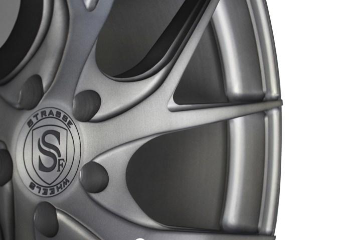 SM5RT Deep Concave Monoblock - Matte Brushed Titanium 12