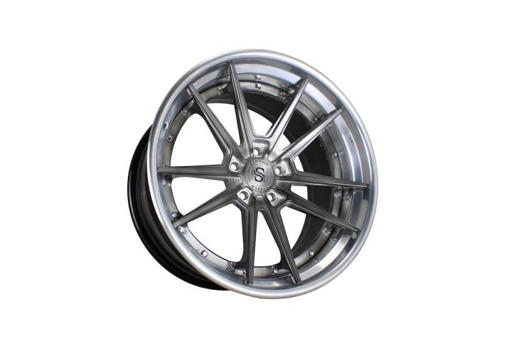 SV1 Deep Concave FS - Gloss Brushed Titanium & High Polish 6