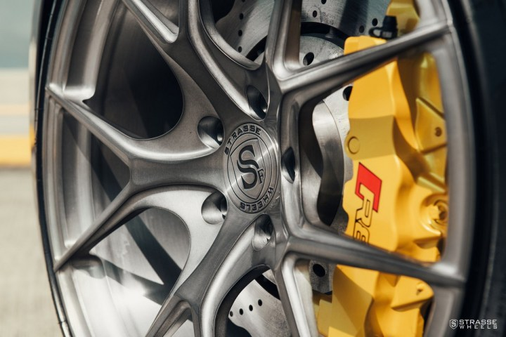 Audi R8 V10 Spyder - 20:21 SM5R Deep Concave Monoblock 2