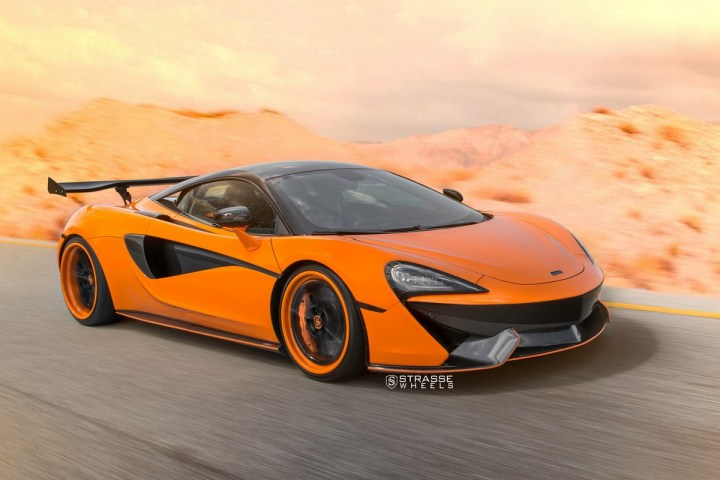 McLaren 570S - 20:21 SV1 Deep Concave FS - Orange 15