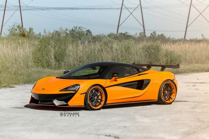 McLaren 570S - 20:21 SV1 Deep Concave FS - Orange 6