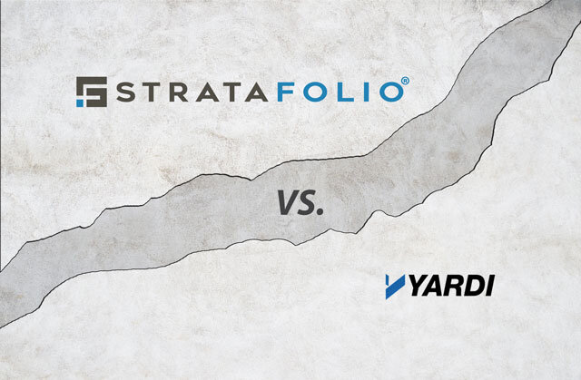 Software Comparison: STRATAFOLIO Verus Yardi Voyager