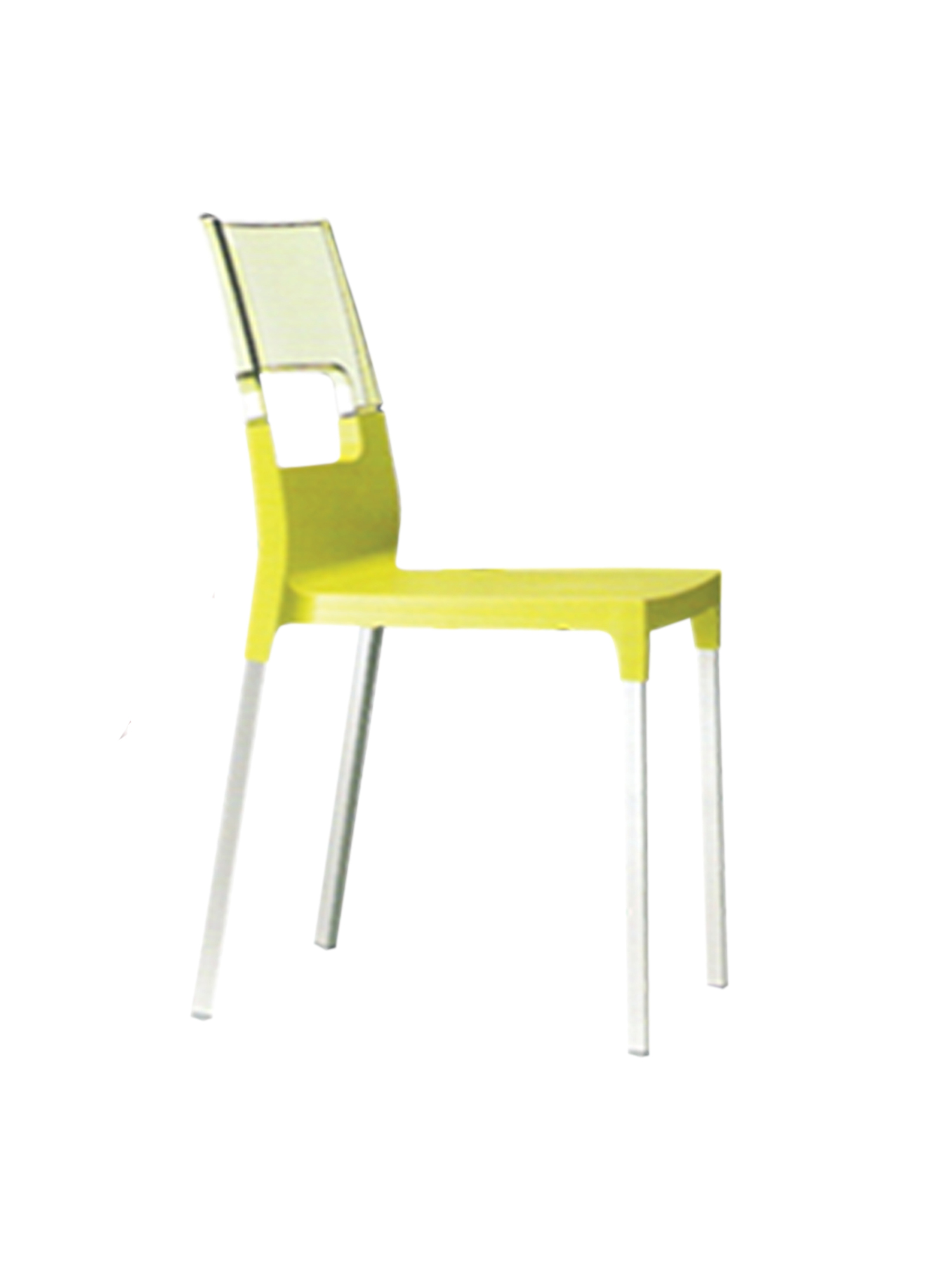 plastic see through chair patchwork furniture the cantor resin strata back shouts funky contemporary feel and look will add style to any outdoor setting available in multiple colors