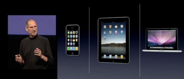 Jobs iPad Placement Slide