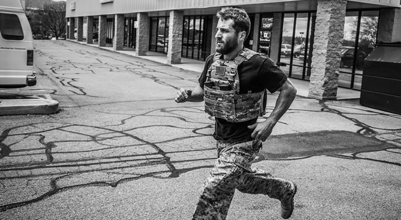 Running with Body Armor